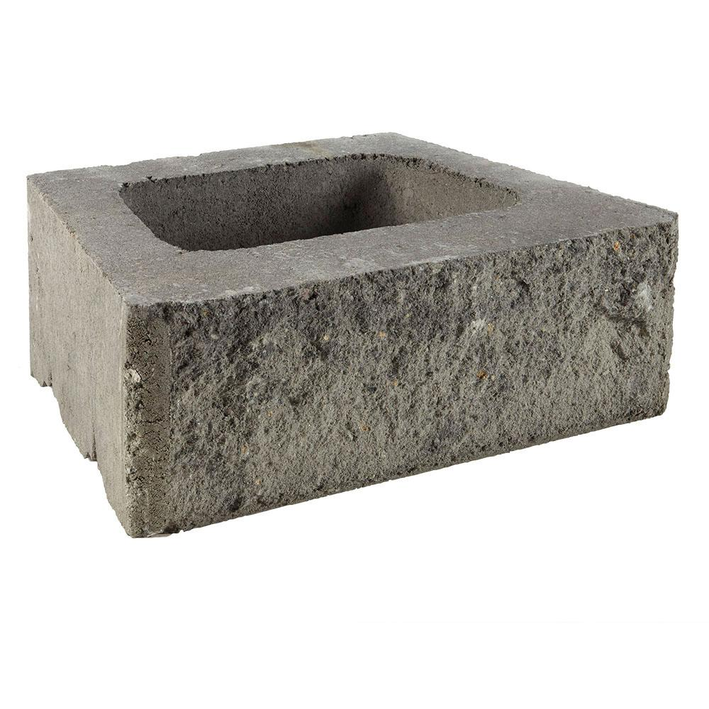 ProMuro 6 in. x 18 in. x 12 in. Granite Blend Concrete Retaining Wall Block (40-Pieces/30 Face feet/Pallet)