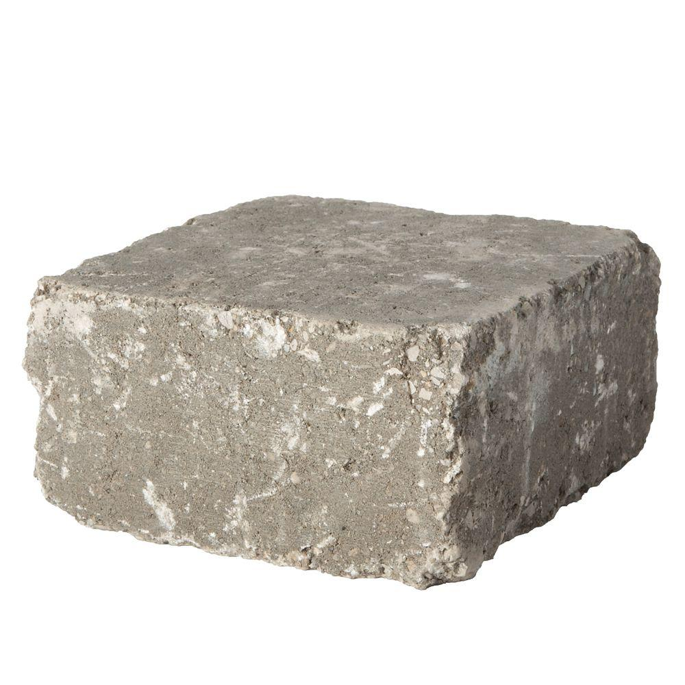 RumbleStone Medium 3.5 in. x 7 in. x 7 in. Greystone Concrete Garden Wall Block (144 Pcs. / 24.5 Face ft. / Pallet)